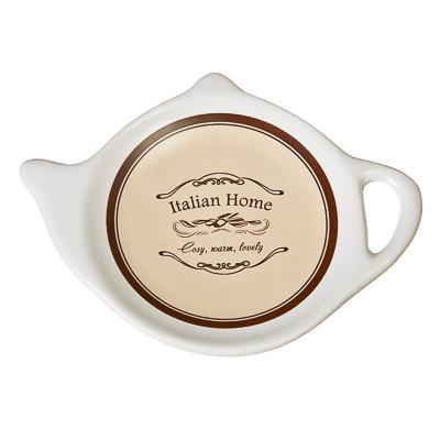 """802-192 Подставка для чайных пакетиков керамика, 12,5x8x0,96см, """"Italian Home"""""""