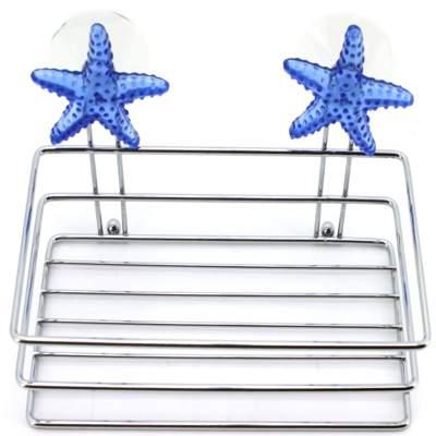 568-071 Морская звезда Корзина квадратная хром, 2794STAR