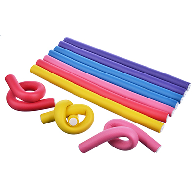 320-002 Папильотки для волос 10 шт., 25x1,5 см, пластик