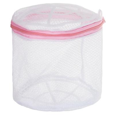 452-004 Мешок для стирки нижнего белья, пластик, полиэстер, 15x15x16см