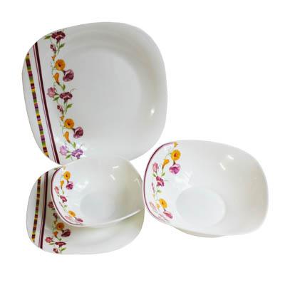 818-523 VETTA Климена Набор столовой посуды 19 пр. квадратной W-19C9