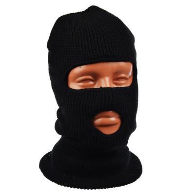 344-003 AZOR Шапка-маска два отверстия, акриловый трикотаж