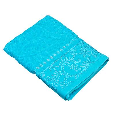 484-346 VETTA Полотенце банное, 100% хлопок Бристоль 50x90см, голубое