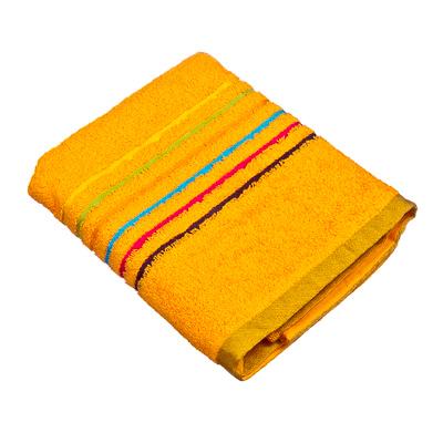 "484-352 VETTA Полотенце махровое, 100% хлопок, 50х90см, ""Амстердам"", желтое"