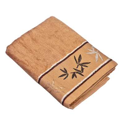 484-381 VETTA Полотенце банное, бамбук, 50x90см, Джангл коричневое