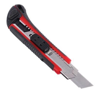 685-001 FALCO Standard Нож универсальный усиленный со сменными лезвиями 3шт 18мм