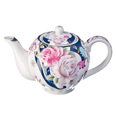 821-081 Розы Чайник заварочный, 1л, тнк.фрф, подар.уп., JS-1229