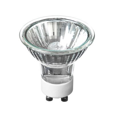 935-008 FORZA Лампа галогенная с защитным стеклом, цоколь Gu10, 220В, 50Вт, 2800K, ресурс 2 000ч., D50 мм