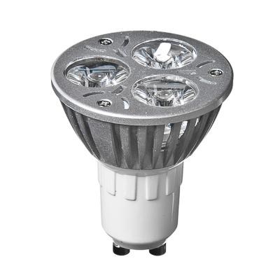 935-025 FORZA Лампа светодиодная высокомощная, цоколь GU10, 3 Вт LED, 3Вт, 3500K, 220В, ресурс 30 000 ч.