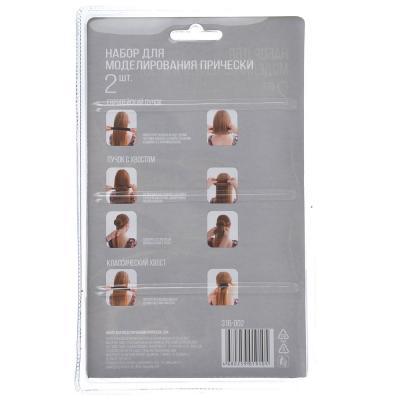 316-002 Заколки для волос хэагами BERIOTTI, 2 шт,  2 цвета
