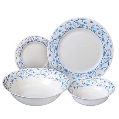 818-629 VETTA Иллирио Набор столовой посуды 19 пр. LFW-19