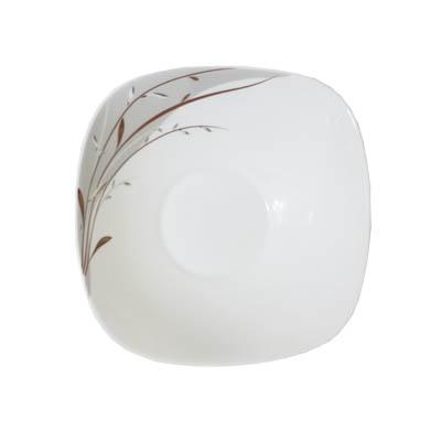818-639 VETTA Тирелл Салатник опаловое стекло квадратный 230мм FFW90/3