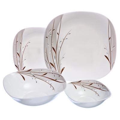818-640 VETTA Тирелл Набор столовой посуды 19 пр. квадратной W-19C9