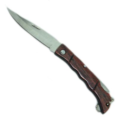 333-179 Нож перочинный складной 15х7,5см ручка дерево, 121