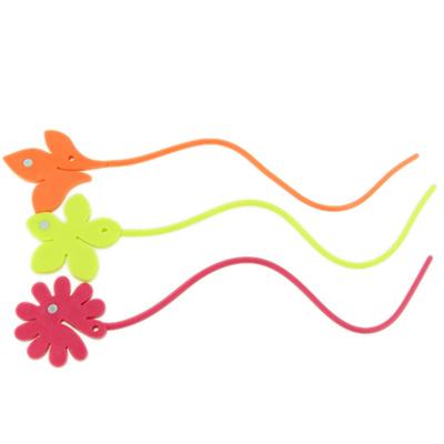 """491-147 Подвязки для штор силиконовые """"Растения"""" микс"""