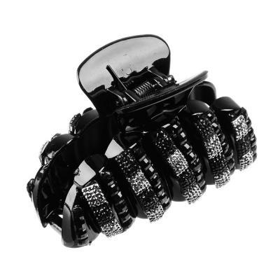 324-020 Заколка-краб для волос, пластик, 8 см