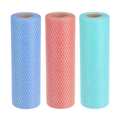 448-118 Набор салфеток в рулоне из вискозы 50 шт, 25x30 см, VETTA