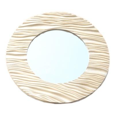491-176 Зеркало настенное 49х49см, в багете ХДФ под золото Р004