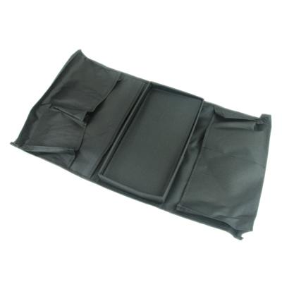 491-180 Органайзер для дивана, черный, 56х32см, ПВХ
