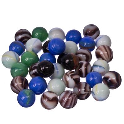 502-250 Камни декоративные 200гр, разноцветные, стекло, арт.019