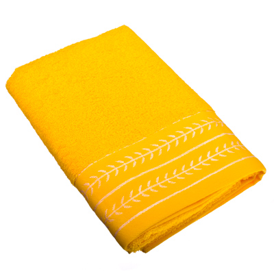 484-393 VETTA Полотенце банное, 100% хлопок, 50x100см, Орегано желтое