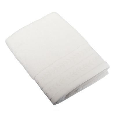 484-396 VETTA Полотенце махровое, 100% хлопок, 50х100см, Орегано белое