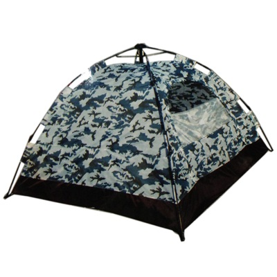 338-572 AZOR Палатка автомат A 621 (210*210*140) 3 чел непромок, дно 210 den,   камуфляж