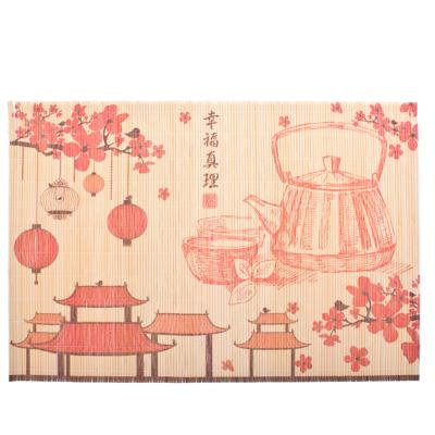 "890-139 Салфетка бамбук, 45х30см, ""Япония"" GCD05, дизайн GC"