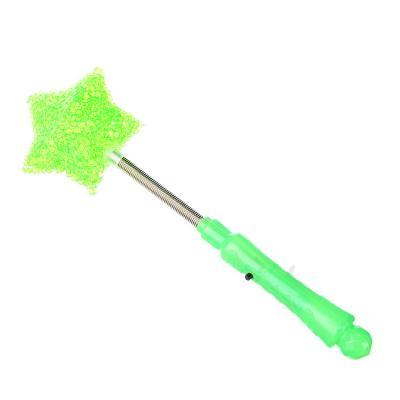 530-029 Палочка световая в форме звезды, пластик, 24см, 4 цвета