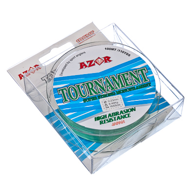 338-915 AZOR Леска Tournament 0,23 мм, 100м, светло-зеленая