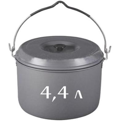 333-274 СЛЕДОПЫТ Котелок костровой (кастрюля) 4,4л