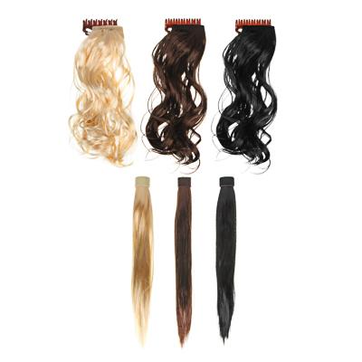 323-050 Искусственные волосы на заколках, канекалон, 40 см, 2-3 дизайна