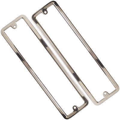 776-019 Рамканомерного знака нерж. сталь, комплект 2шт, полированная