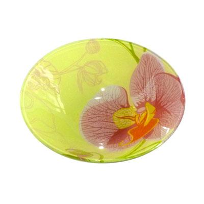 830-003 VETTA Орхидея Салатник стекло 152мм, S302006-GC001