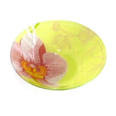 830-004 VETTA Орхидея Салатник стекло 178мм, S302007-GC001
