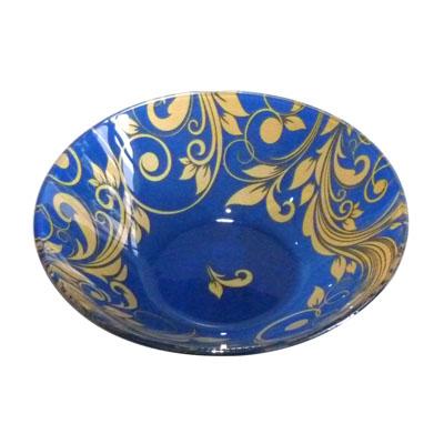 830-028 VETTA Золотая вязь Салатник стекло 178мм, S302007-GC004