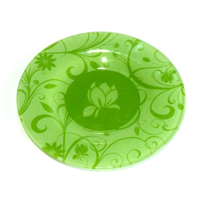 830-039 VETTA Адель Тарелка десертная стекло 200мм, S3008-GC005