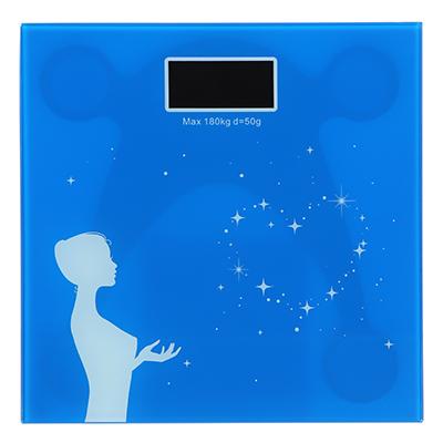 487-033 Весы напольные электронные до 180 кг, ЖК-дисплей антиблик