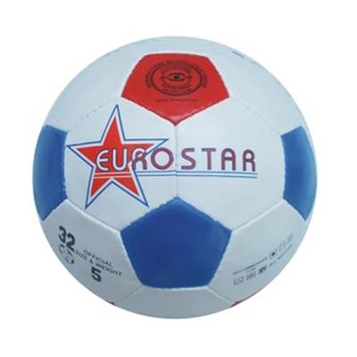 """336-019 Мяч футбольный 5"""" Euro star, ПВХ, 2сл., 270гр"""