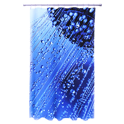 """461-280 VETTA Шторка для ванной, ткань полиэстер с утяжелит, 180x180cм, фотопечать, """"Душ"""" Дизайн GC"""