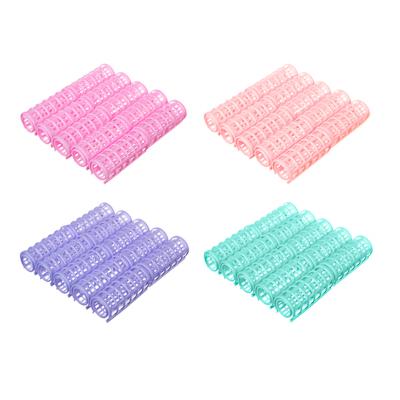 323-056 Набор бигуди для волос 10шт., пластик, 6,2х2,5 см