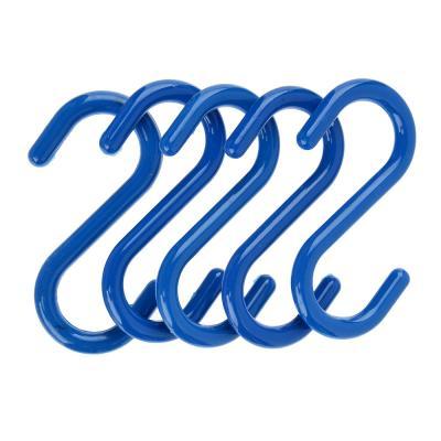 440-175 Набор крючков для рейлинга 5 шт, до 0,5 кг, 7 см, пластик, ВЕСЕЛЫЙ РОДЖЕР