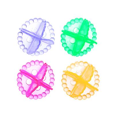 452-010 Набор мячей для стирки белья 4шт, ПВХ, d5см