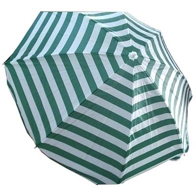 """333-381 Зонт пляжный """"Классический"""" 210D Oxford с ножкой, 190см"""