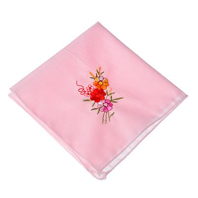 307-153 Носовой платок, хлопок, 25x25см, 3 дизайна
