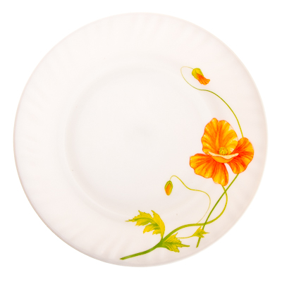 818-646 VETTA Аргос Тарелка десертная опаловое стекло 203мм, HP-80