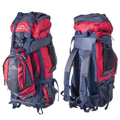 118-006 ЧИНГИСХАН Рюкзак туристический двойной 90л, с мягкой спинкой, оксфорд 600D, YJB-7