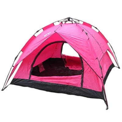 122-006 Палатка 3-мест., 2-сл., 2,3x2,3x1,4м, автомат, 210Т оксфорд, нейлон дн.170Т, YJZP-194