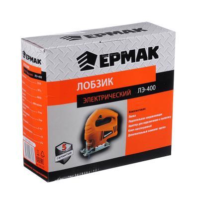 646-250 ЕРМАК Лобзик электр. ЛЭ-400, 400Вт, рег. скорости, 800-3000 ход/мин,