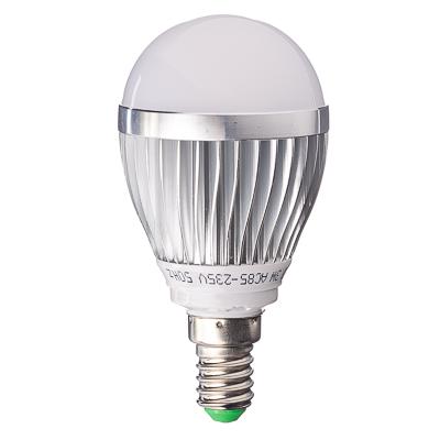 "925-008 Лампа LED 2700К ""тёплый"" солнечный свет, E14, алюминиевый корпус, 3W, 85-235V"